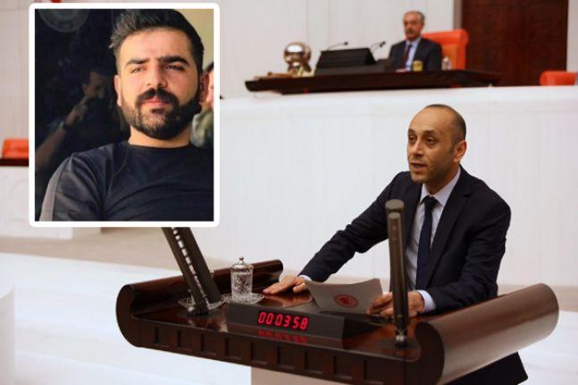 HDP'li Dede, İran askerleri tarafından vurulan Rustem Çakmak'ı Çavuşoğlu'na sordu