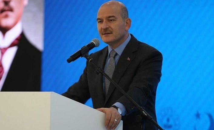 İçişleri Bakanı Soylu: 2021'de 253 bin 299 kişinin ülkeye girişi sınırda engellendi