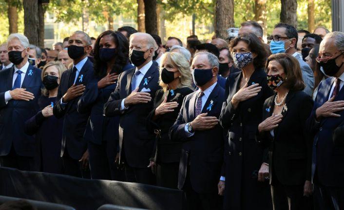 ABD 11 Eylül saldırılarında hayatını kaybedenleri anıyor
