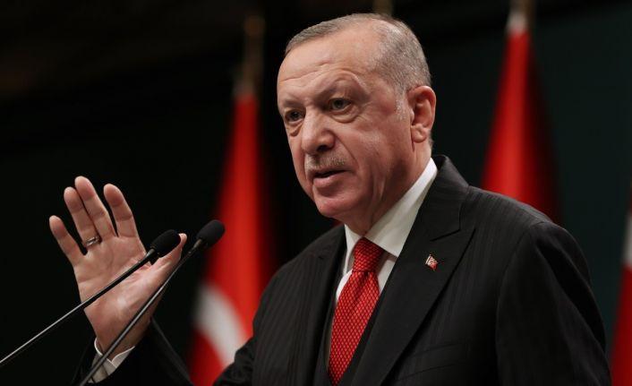 Erdoğan: Afetler için düzenlenen yardım kampanyasında 345 milyon TL toplandı