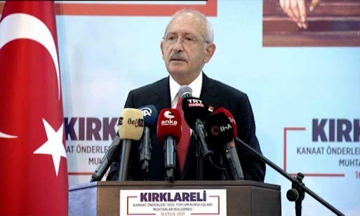 Kılıçdaroğlu: Sığınmacıları göndereceğiz, ırkçılık yapmayacağız