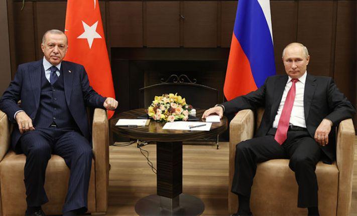Kritik zirve sona erdi: Putin 'çok yararlı ve kapsayıcı' Erdoğan 'verimli' dedi