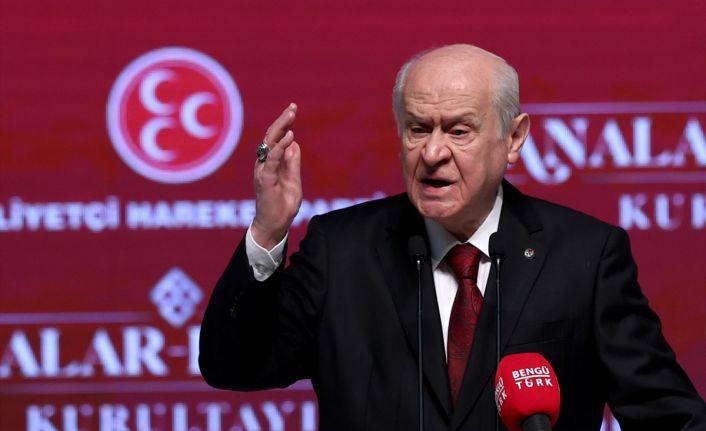 Bahçeli yine HDP'yi hedef gösterdi: Kapatılsın