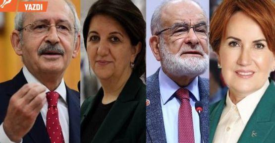 4 lideri Anayasa sempozyumunda buluşturma planı!