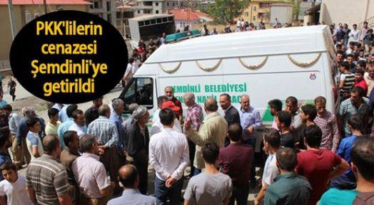 5 PKK'linin cenazesi Şemdinli Devlet Hastanesi'ne getirildi