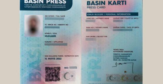 5 yılda 4 bine yakın basın kartı iptal edildi