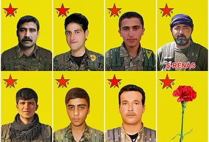 9 YPG savaşçısının kimliği açıklandı