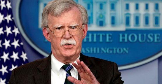 ABD Güvenlik Danışmanı Bolton: Saldırının arkasında İran var