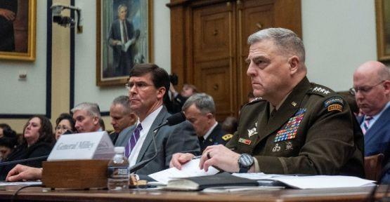 ABD: 'Türkiye-Suriye sınırına yeniden asker konuşlandırma niyetimiz yok'