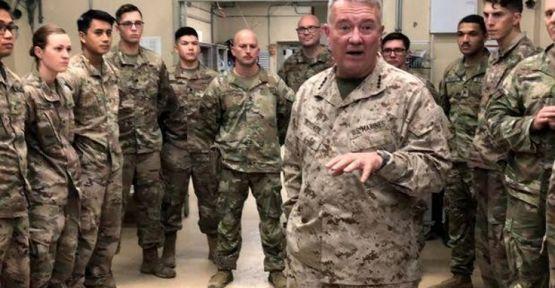 ABD'li komutan Mazlum Kobani'yle görüştü