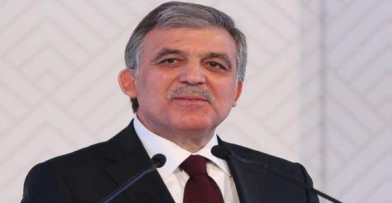 Abdullah Gül: Gezi olaylarıyla gurur duyuyorum