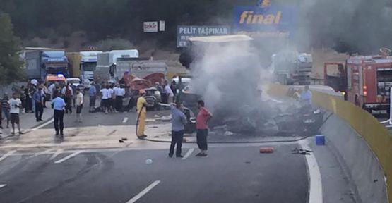 Adana'da zincirleme kaza! 5 ölü