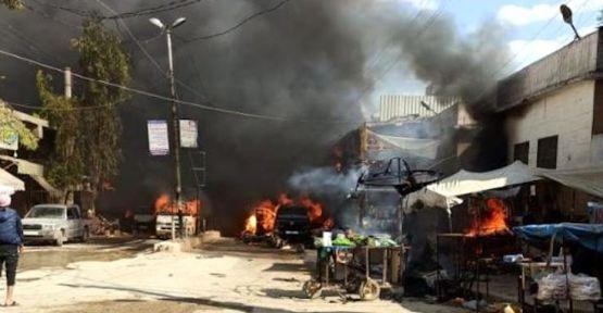 Afrin'de patlama: En az 20 ölü