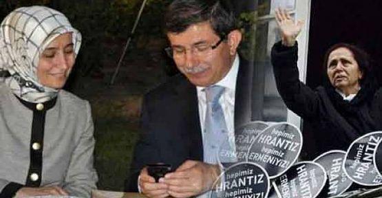 Ahmet Davutoğlu ve eşi Sare Davutoğlu'ndan Rakel Dink'e telefon