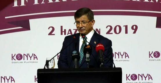 Ahmet Davutoğlu: Ya yeni bir hâl, ya izmihlal