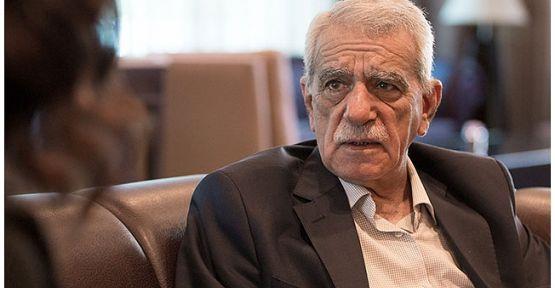 Ahmet Türk haberi Ankara'da belediye için kredi ararken duydu