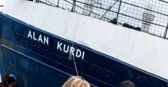 Akdeniz'de sığınmacıları kurtaran gemiye Alan Kurdi adı verildi
