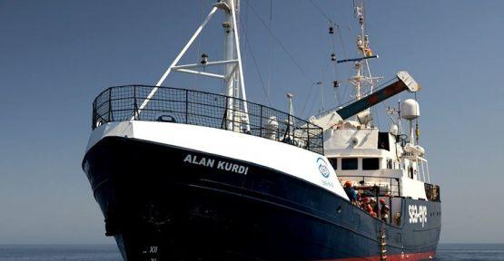 'Alan Kurdi' gemisi 65 mülteci ile Avrupa kıyılarında bekletiliyor