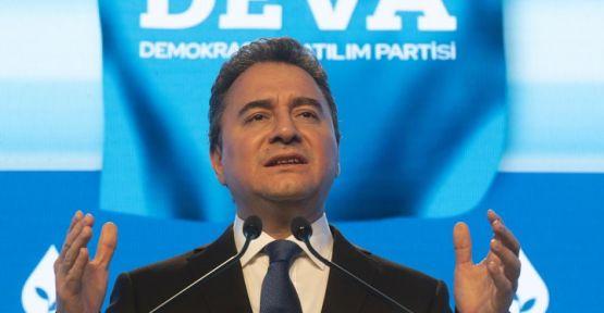 Ali Babacan erken seçim için tarih verdi