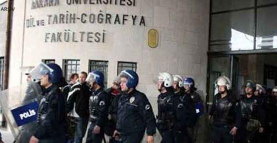 Ankara Üniversitesi'nde eğitime ara verildi