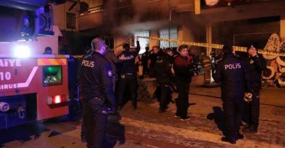Ankara'da yangın faciası: 4 ölü