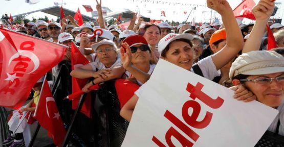 Ankette Adalet Yürüyüşü'ne destek yüzde kaç çıktı?
