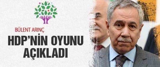 Bülent Arınç: HDP'nin yüzde 11-12 alması ihtimal