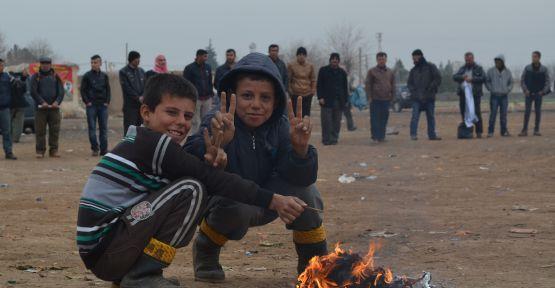 Asker ablukasında 161'inci gün selamı