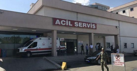 Askeri araç devrildi! 6 Asker yaralandı