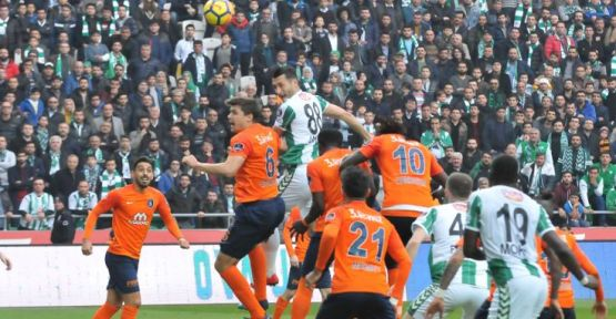 Atiker Konyaspor: 1 - Medipol Başakşehir: 1