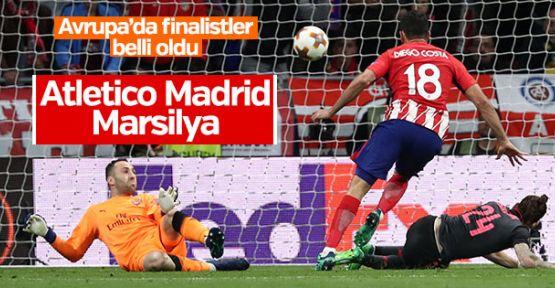 Avrupa Ligi'nde finali Atletico Madrid ile Marsilya oynayacak