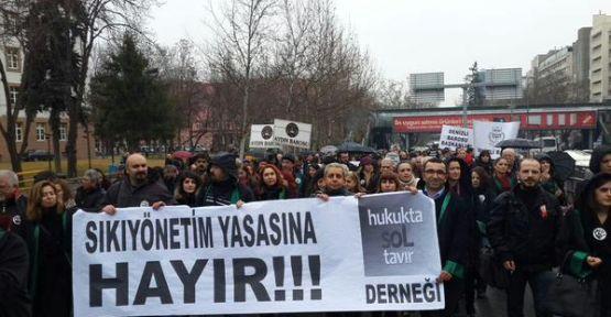 Avukatlar Meclis'e yürüyor: Polis devletine hayır