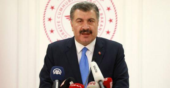 Bakan Koca, Türkiye'de ilk 'koronavirüs' vakasını açıkladı