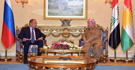 Barzani'den Lavrov'a Fırat'ın doğusu için çağrı: Kürtleri koruyun