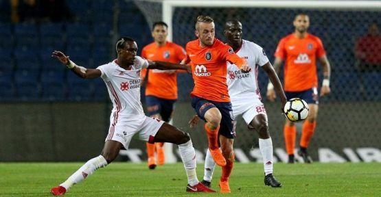 Başakşehir Sivasspor'la puanları paylaştı: 1-1