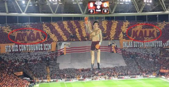 Galatasaray'ın koreografisine soruşturma