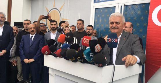Binali Yıldırım'dan 'Kürdistan' açıklaması