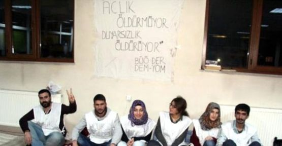 Bingöl Üniversitesi öğrencilerinin açlık grevi dördüncü gününde