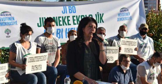 Buldan: Yıkılması gereken AKP iktidarıdır, İstanbul değil