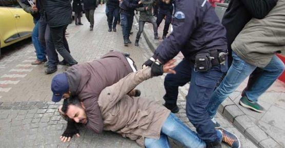 Çanakkale'de Erdoğan gözaltıları