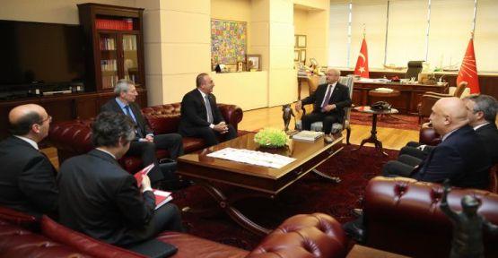 Çavuşoğlu'ndan Kılıçdaroğlu'na Libya brifingi