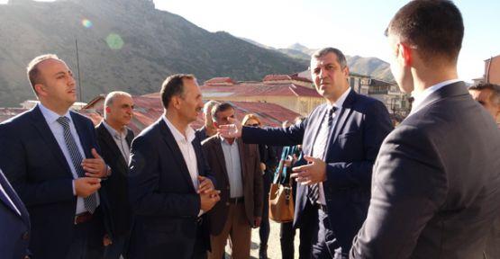 Çevre ve Şehircilik Bakanlığı'ndan Şemdinli'ye ziyaret
