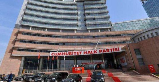 CHP Genel Merkezi'nde korona görüldü