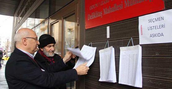 CHP seçmen listesini kontrol etti