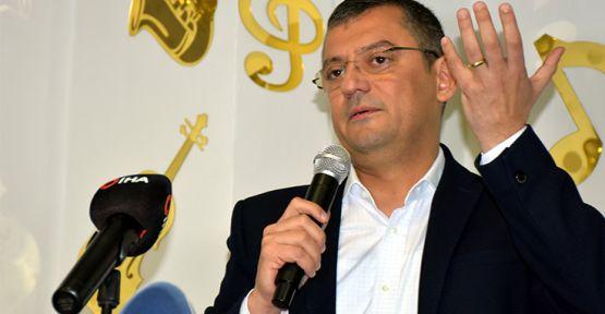 CHP'li Özgür Özel: Erken seçime hazırız, dünden razıyız