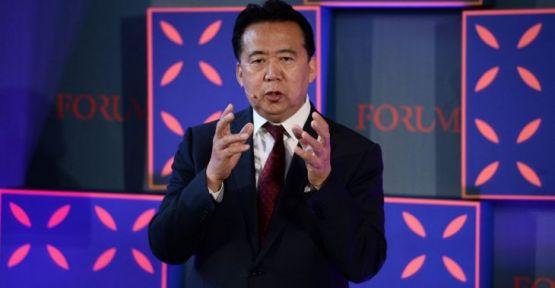 Çin'de gözaltına alınan Hongwei, INTERPOL Başkanlığından istifa etti
