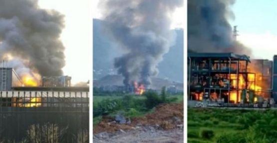 Çin'de sanayi bölgesinde patlama: 19 ölü