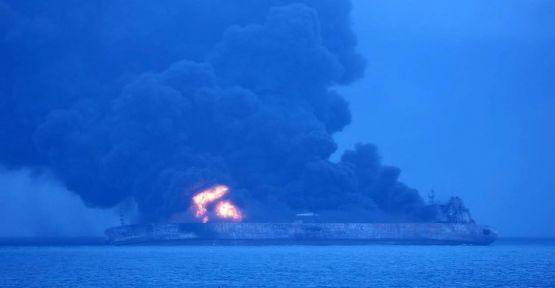 Çin'de tanker ile kargo gemisi çarpıştı: 32 kayıp