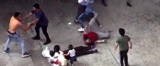 Çocukların kavgasına aileler de karıştı: 1 ölü, 4 yaralı