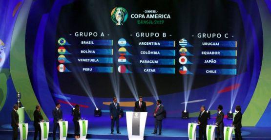 Copa America 2019'da gruplar belli oldu
